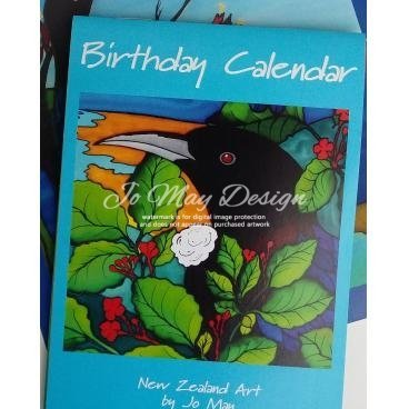 Birthday calendar small